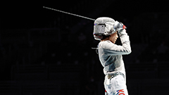 Fencing team matches start as S. Korean fencers come out with unfortunate individual results