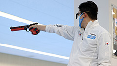Shooting legend Jin Jong-oh wraps Olympics with no medal