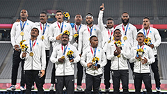 Fiji defends its Rugby 7's title to win the second ever medal in Olympics