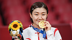China wins 9th consecutive gold in woman's singles table tennis
