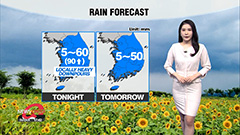 Chance of local downpours tonight... isolated rain forecast tomorrow amid heatwave