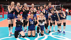 S. Korean women's volleyball team advance to semi-finals with win over Turkey
