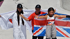 All three Medalists in women's skateboarding are teenagers
