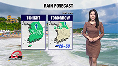 Chances of sudden showers nationwide...heatwave eases off on 'Malbok'