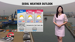 Heat continues in west, rain in south and Jeju