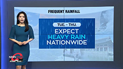 Nationwide showers tomorrow...central regions to see local downpours
