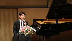 Winner of 2015 Chopin competition Cho Seong-jin back with Chopin's pieces