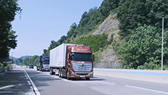 S. Korea unveils its latest truck platooning technology to create safer roads