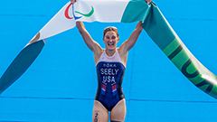 Paralympic triathlon champion Allysa Seely dreams of taking para-sport to new heights