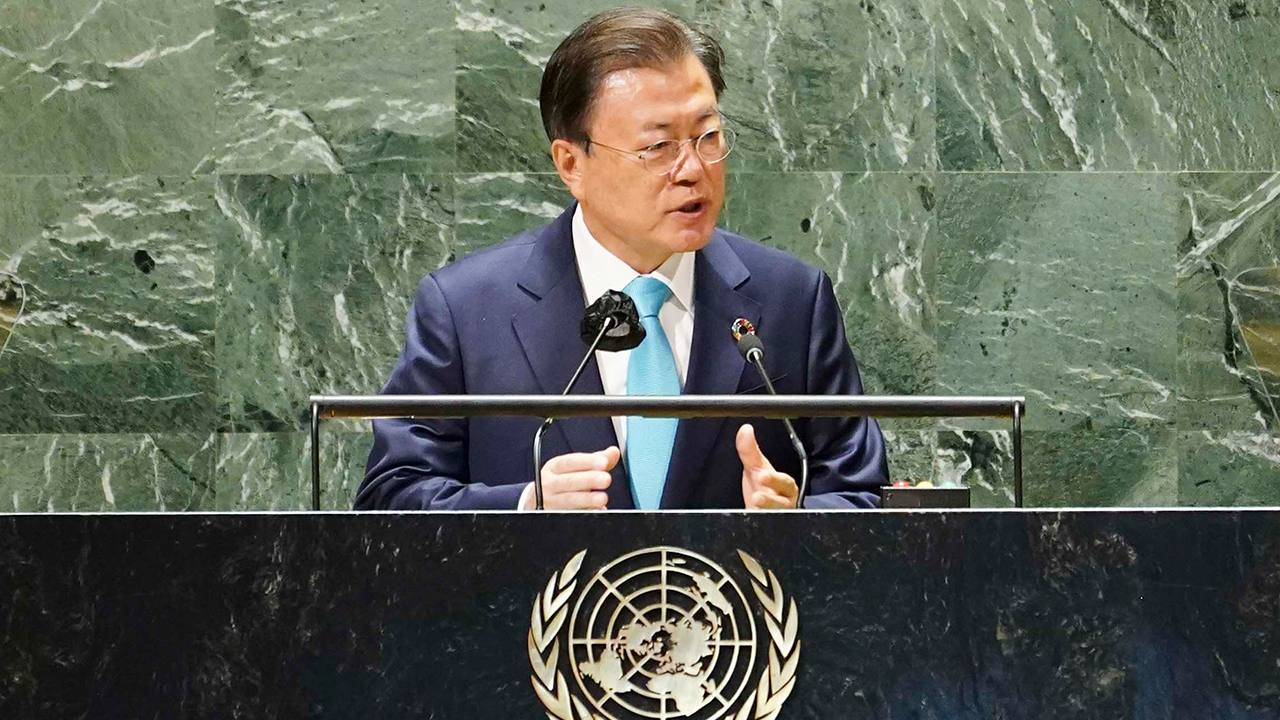 Moon reaffirms S. Korea's commitment for inclusive global cooperation