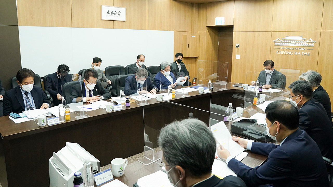 Blue House holds National Security Council meeting on Thur. to discuss end-of-war declaration