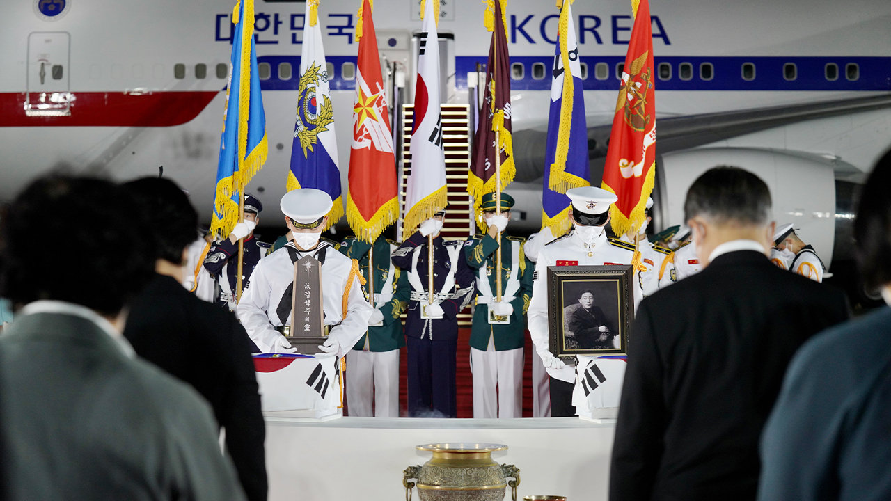 Remains of 68 Korean War heroes come back home after 70 years