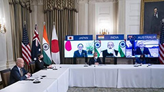 First in-person Quad leaders' meeting held Friday, signals U.S. central strategy in Asia