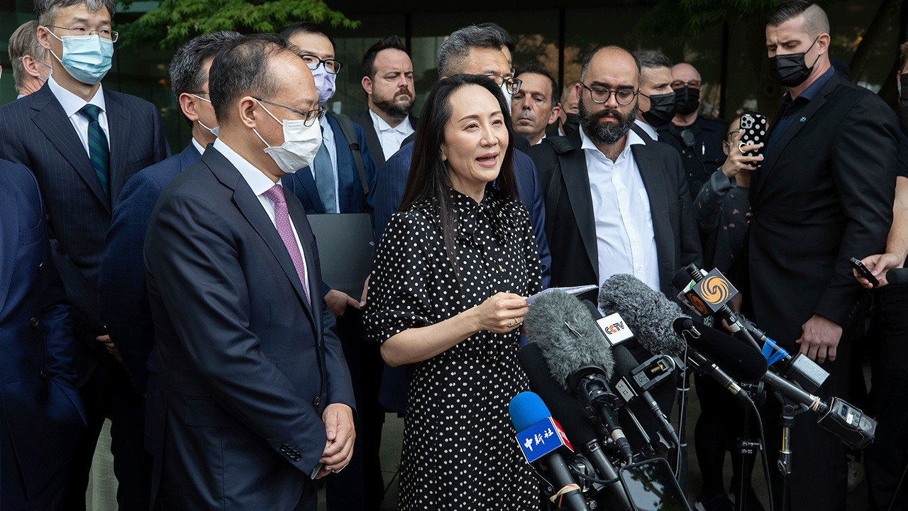 Huawei's Meng Wanzhou returns to China after U.S. deal on fraud charges