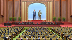 N. Korea convenes Supreme People's Assembly Tuesday without Kim Jong-un: State media