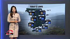 Chilly start, big rise in highs