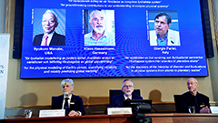 Nobel Prize in physics jointly awarded to three scientists for advancing climate knowledge