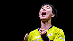 Lee Sang-su wins S. Korea's first ever table tennis gold at Asian Championships