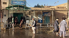 Islamic State suicide bombers attack Shiite mosque in Afghanistan, killing at least 47 people