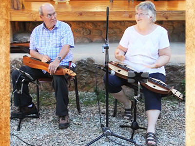 The Innerview Bill and Susan McFarland Mountain dulcimer players Ep215