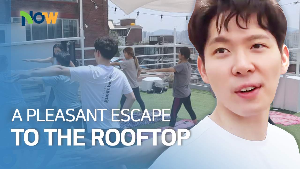 A Pleasant Escape to the Rooftop