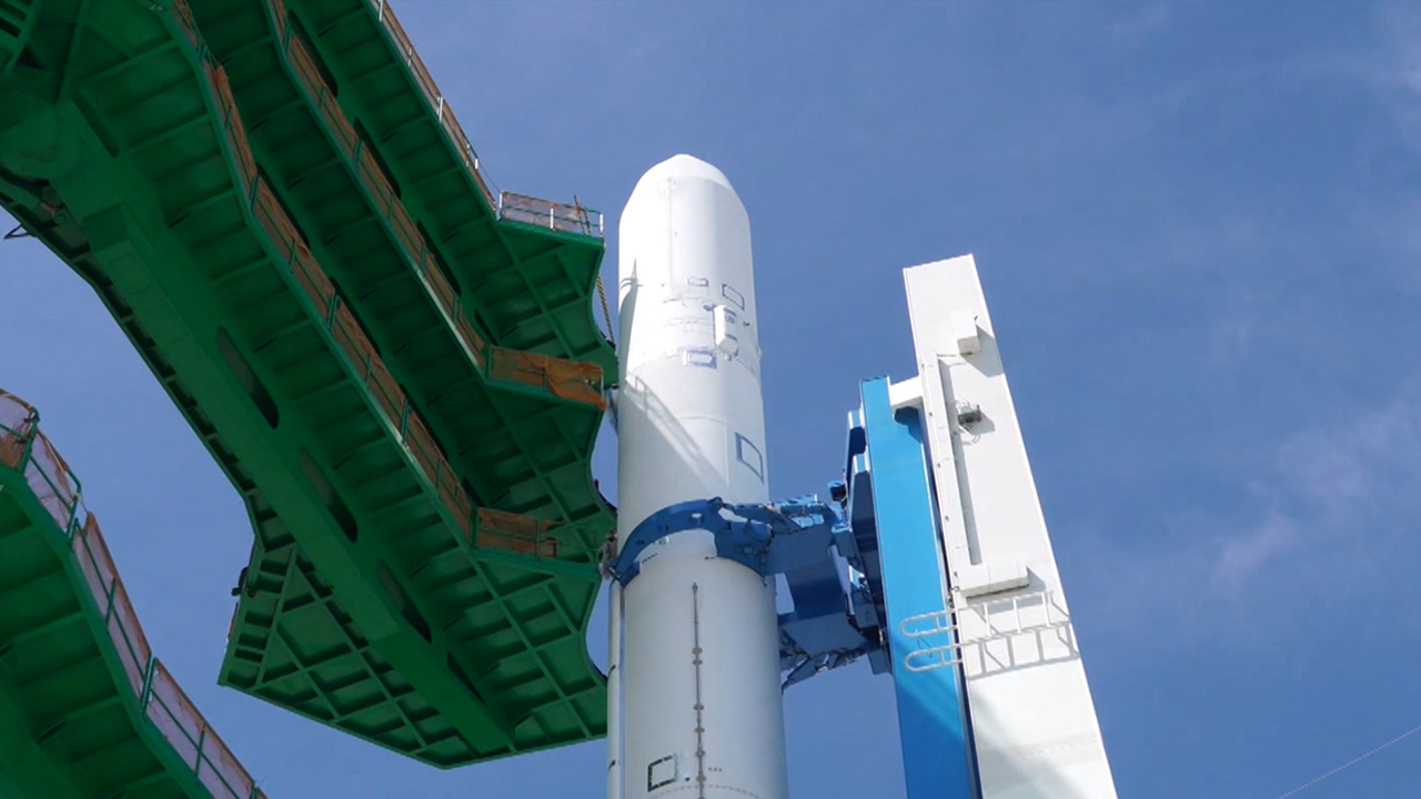 South Korea's space rocket ready to lift off