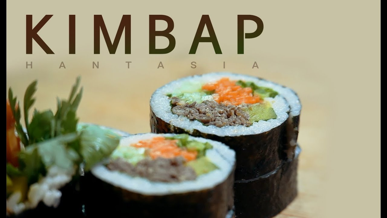 7 Different Ingredients in One Bite! KIMBAP