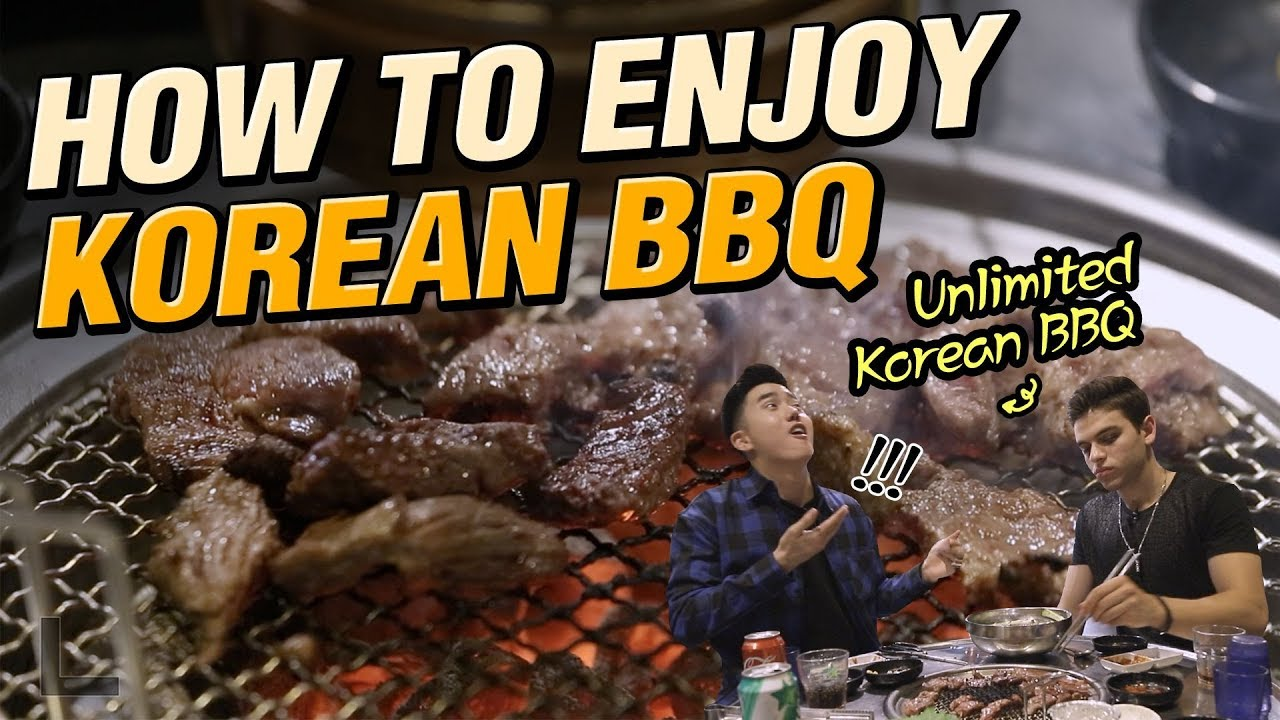 Unlimited Korean BBQ with only 20 Dollars?!