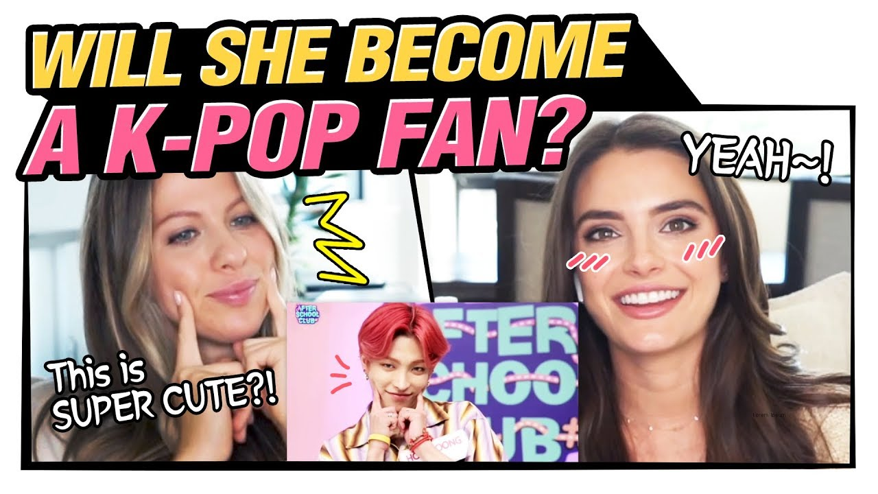 Reaction to Aegyo, with non-kpop fan (feat.ATEEZ) | 애교를 처음 본 외국인 반응