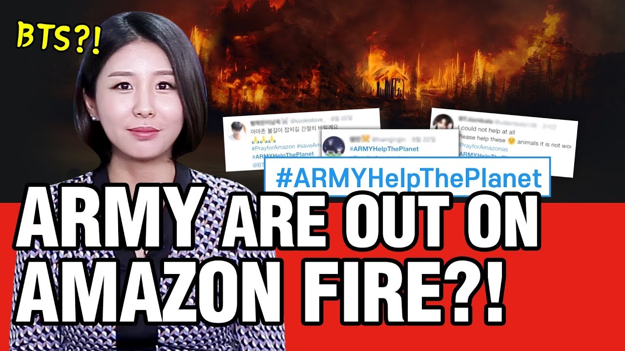 [UNNIE NEWS] ARMY are out on Amazon Fire?!