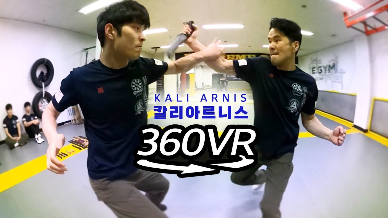 360° View l Kali Arnis, Practical Martial Art of the Action Movies l 360 VR