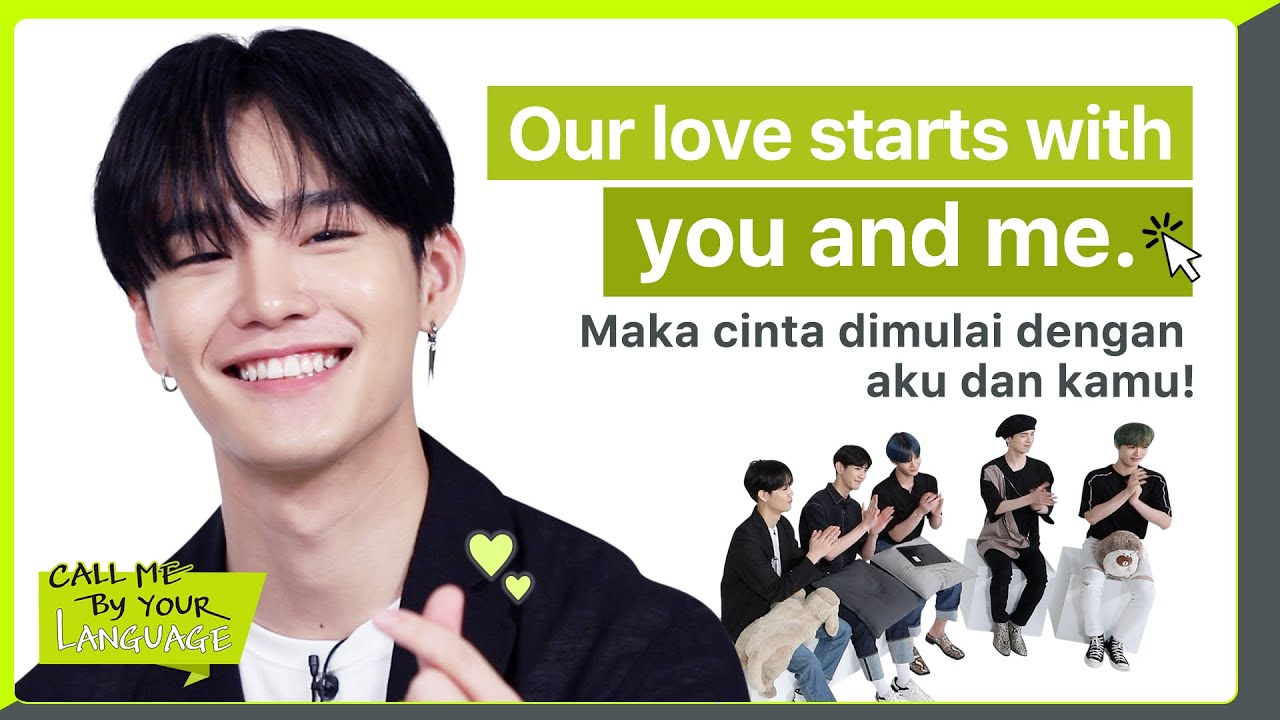 CIX replies to fans in BAHASA INDONESIA | #CBL (CALL ME BY YOUR LANGUAGE)