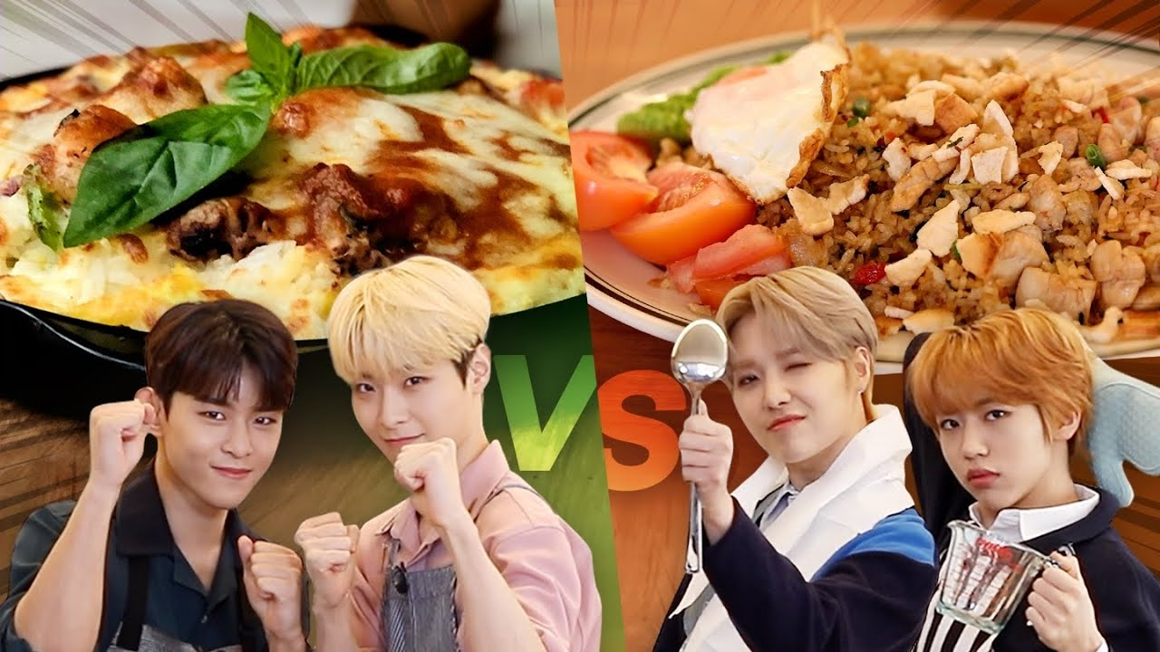 Indonesia VS Brazil food competition with K-pop idol l Recipe Overlord l TOO