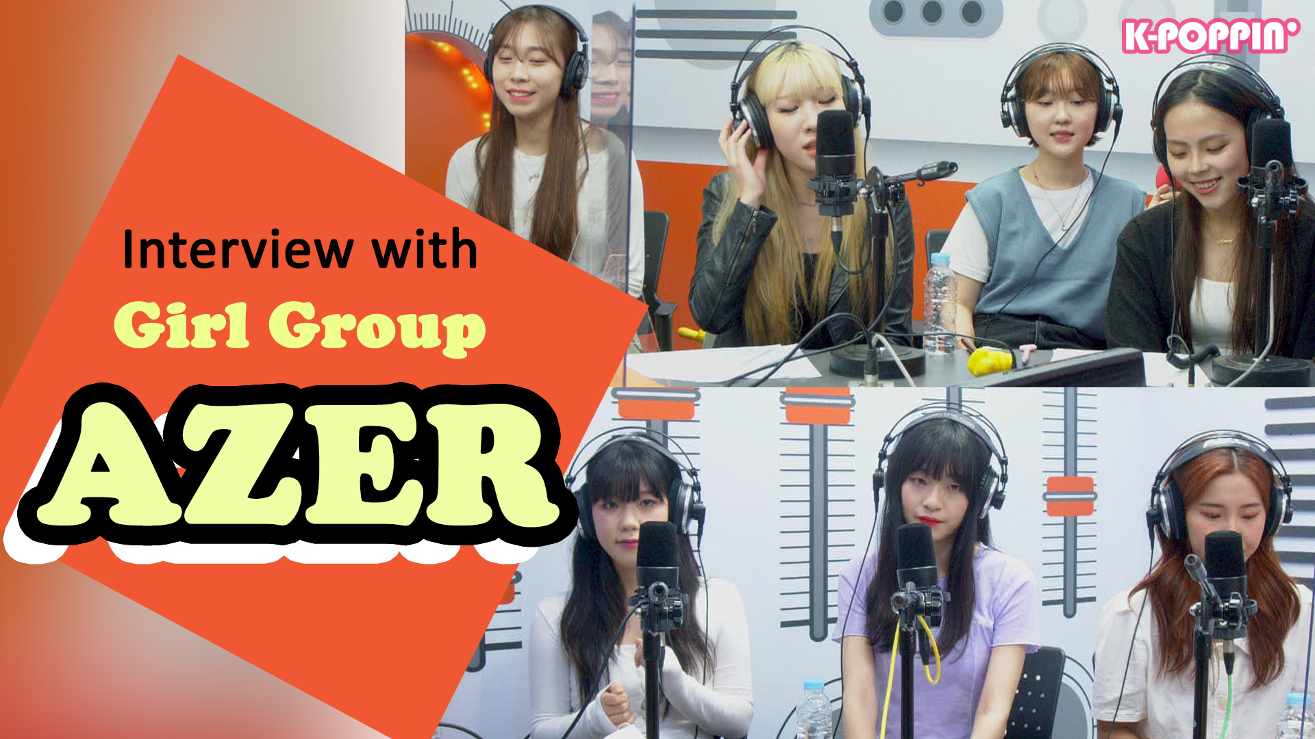 [K-Poppin'] INSIDER with Girl Group AZER 걸그룹 아째르